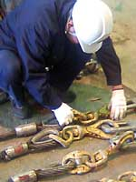 Inspection of lifting products